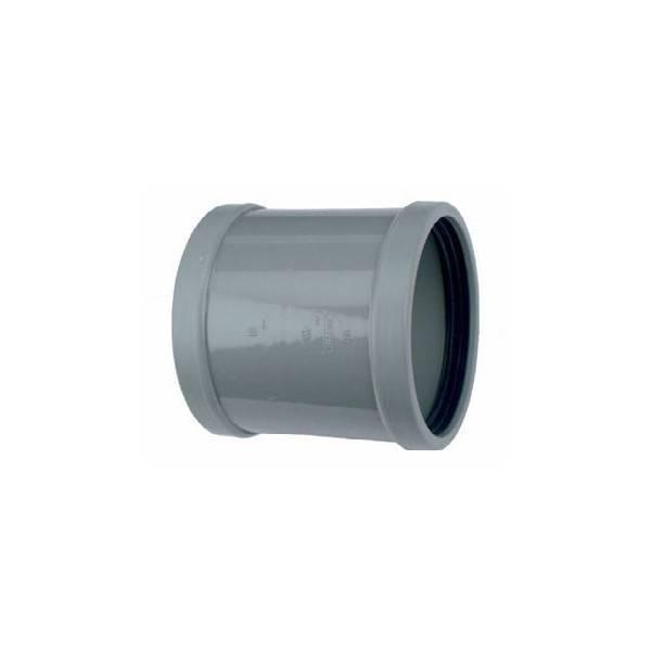 PVC overschuifmof 125 mm SN4