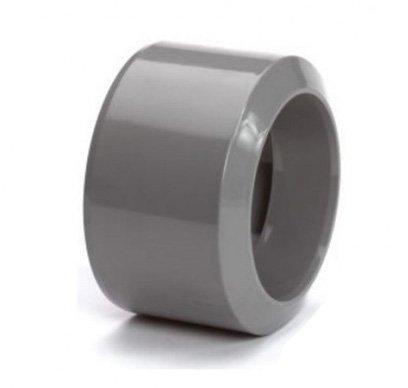 PVC HWA inzet verloopring 125 x 100 mm (mof/spie)