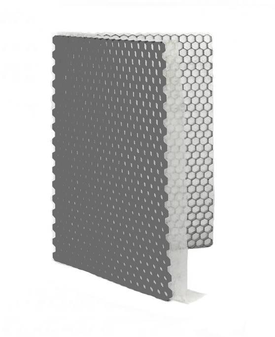 Grindplaat grijs ECCOgravel 160 x 120 x 4 cm | Grindplaten
