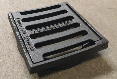 Straatkolk kop 315 mm, gietijzer