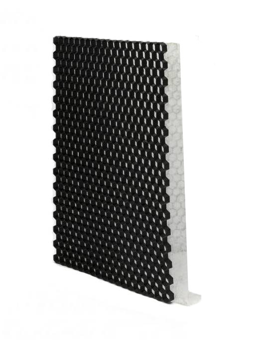 Grindplaat zwart ECCOgravel 120 x 80 x 3 cm | Grindplaten