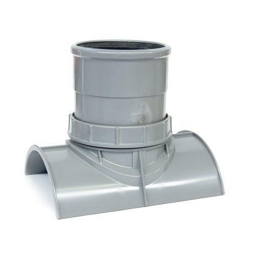 PVC keilinlaat met zettingsinlaat SN8 KOMO 250 x 125 mm, boorgat = 133 mm