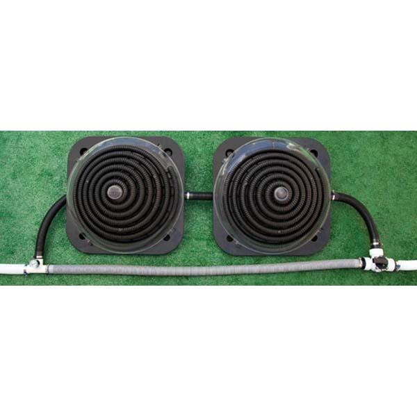 AquaForte Solar heaters Premium met reflectie parabool