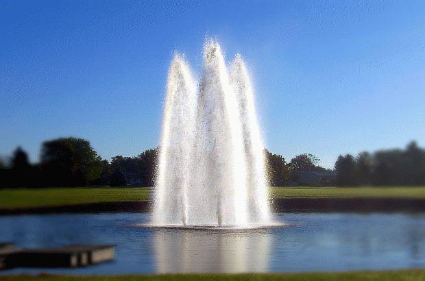 AquaMaster Olympian nozzle voor 15 pk fontein