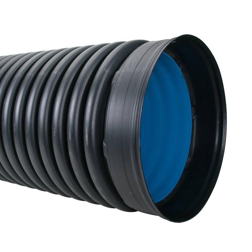 PE duikerbuis SN8 800 mm L = 6m
