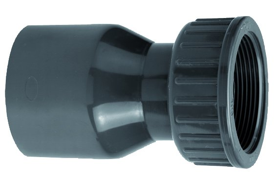 VDL PVC 63 mm x 2 1/2'' koppeling 2/3 PN10