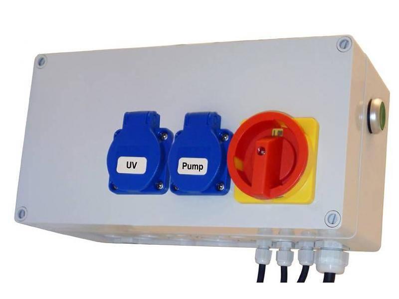 AquaForte trommelfilter besturingskast Deluxe