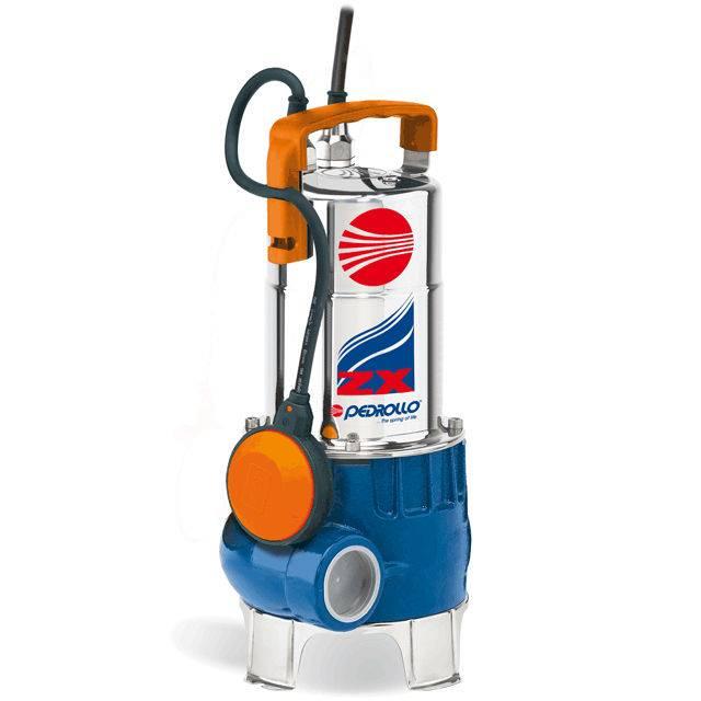 Pedrollo ZXm 1 A/40 vuilwater dompelpomp met vlotter
