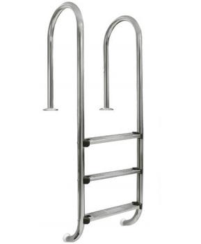AstralPool Zwembadtrap recht RVS-304 - 4 treden ladder