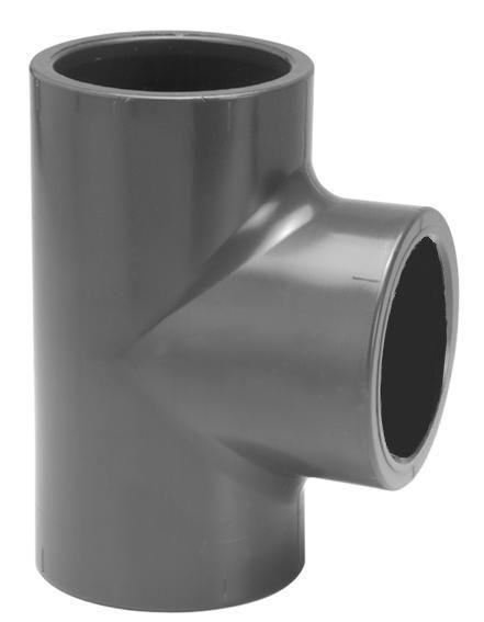 VDL PVC T-stuk 90 graden 75 mm PN16