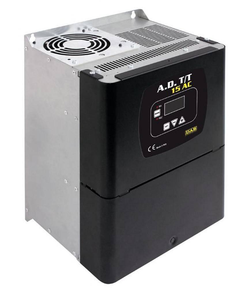 DAB S4 4/14 1.5HP KIT T400/50 4OL bronpomp set & DAB ADAC frequentieregelaar T/T 3,0 AC