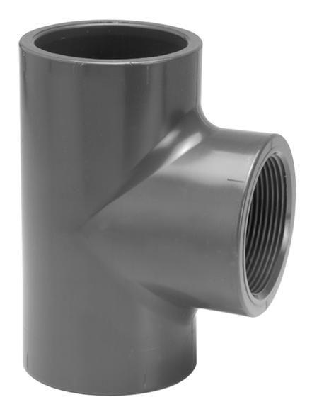 VDL PVC T-stuk 90 graden 63 mm x 2'' PN10
