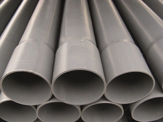 PVC drukleiding ongekeurd 110 L = 5 m, PN 10