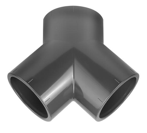 VDL PVC Y-stuk 75 x 75 mm PN16