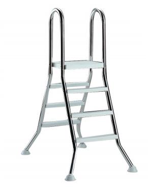 AstralPool Ladder RVS 4 x 4 & platform - bovengronds zwembad