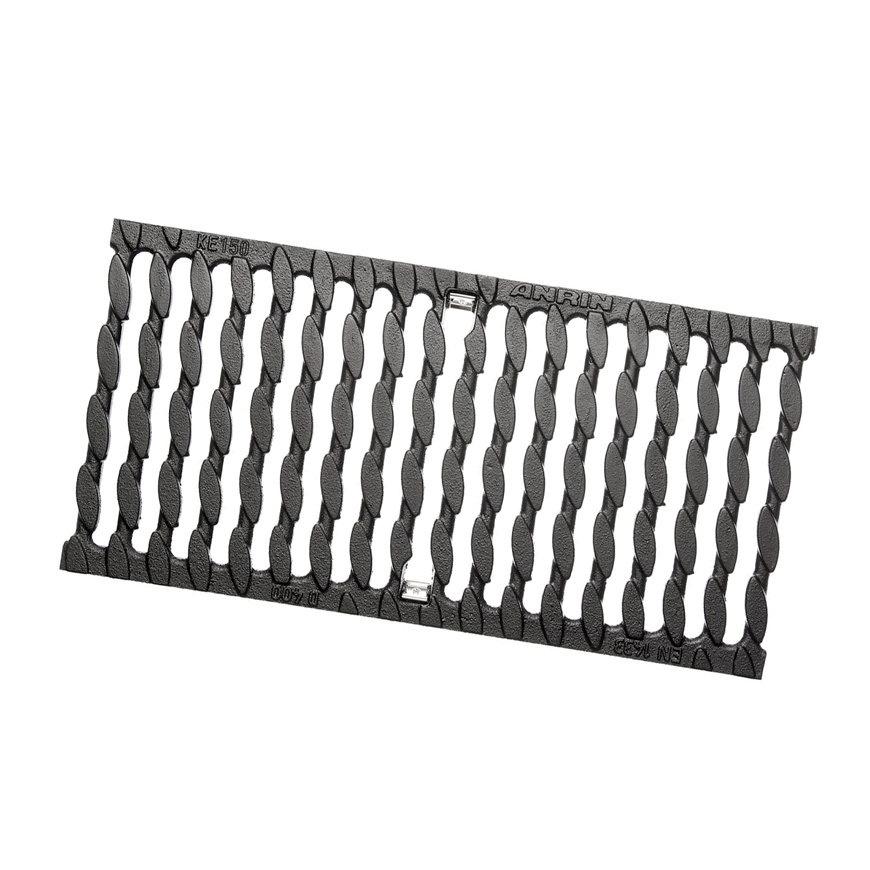 Anrin sleufrooster gietijzer type KE-150 L = 50 cm - Klasse D
