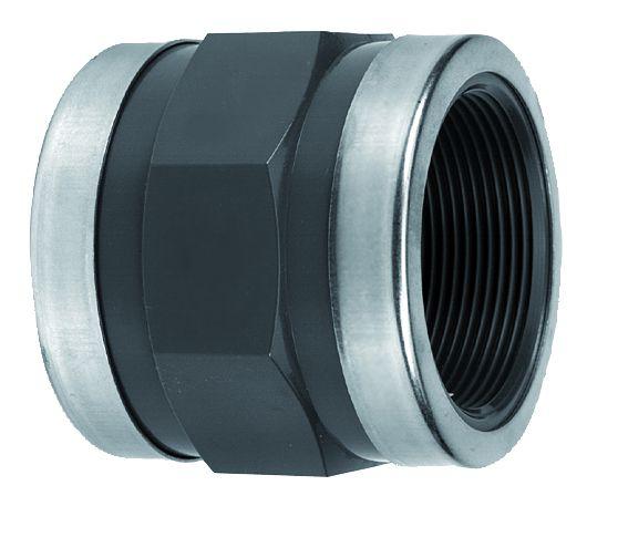 VDL PVC draadsok 1/2'' x 3/8'' PN16 & ring