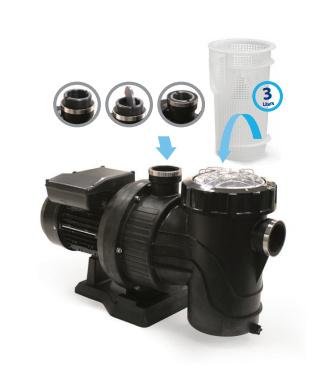 AstralPool Pro-Adapt UT 151 - 230V/1,5 pk tegenstroompomp
