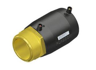 "Plasson Elektrolas overgangskoppeling 75 mm x 21/2"" - spie x messing bu.dr."