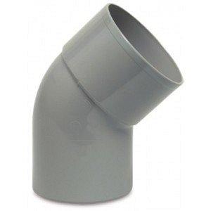 PVC HWA bocht 45 graden 70 mm (mof/spie)