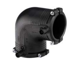 GF ELGEF elektrolas knie 90 graden   50 mm - PE100 / SDR11