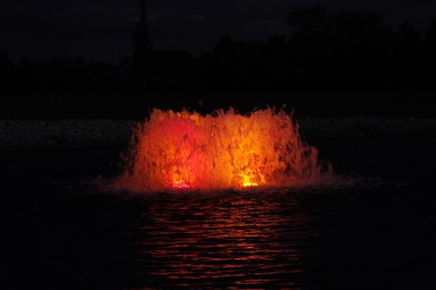 AquaMaster Verlichtingsset 4 x 150 W voor 1,5 - 5,5 pk Volcano