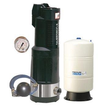 DAB Divertron Kit X 1200 M onderwaterhydrofoor met drukvat