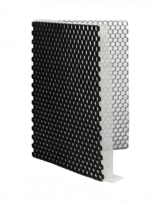 Grindplaat zwart ECCOgravel 160 x 120 x 4 cm | Grindplaten