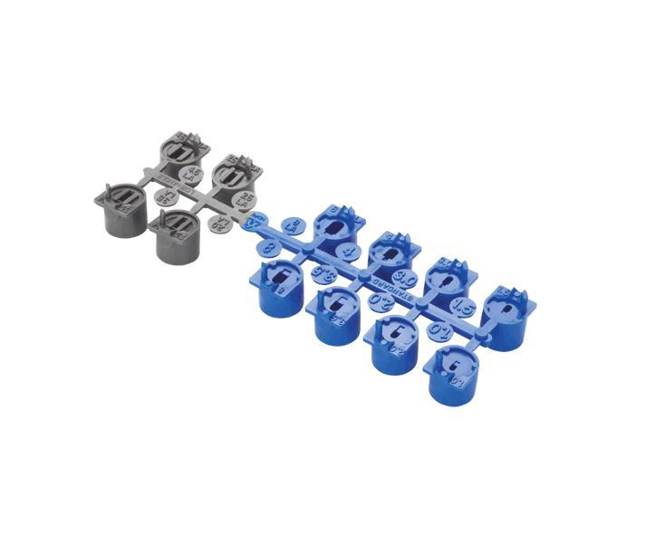 Hunter Blue nozzles set