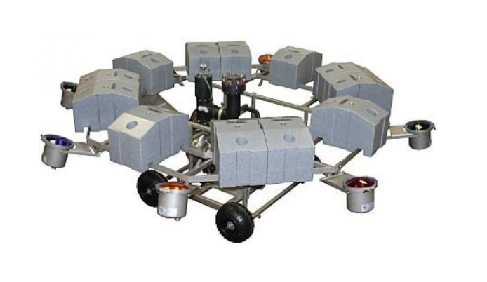 AquaMaster Verlichtingsset (RVS) 4 x 500 W