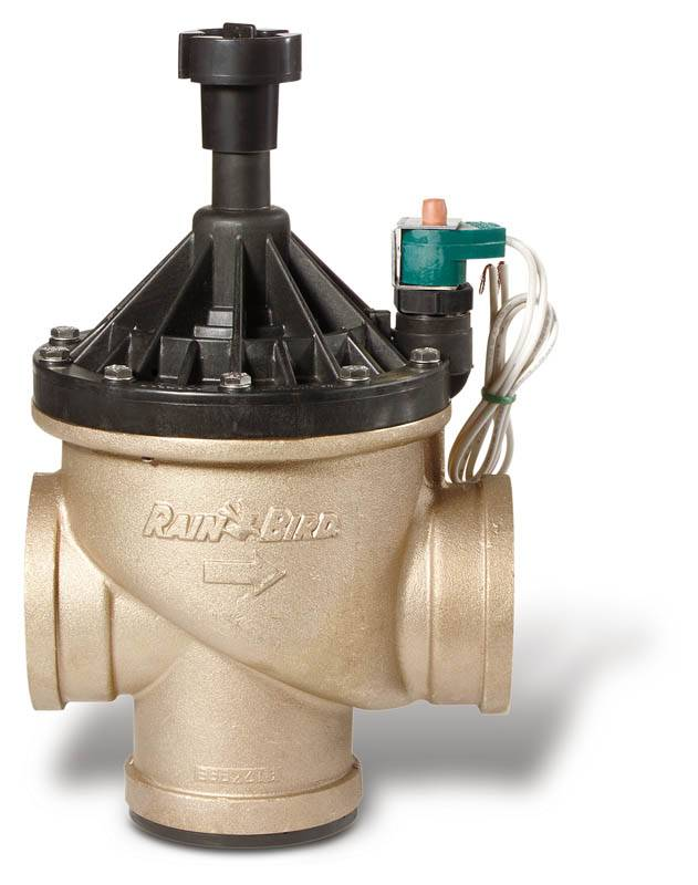 "Rainbird 300-BPE 3"" messing magneetklep"