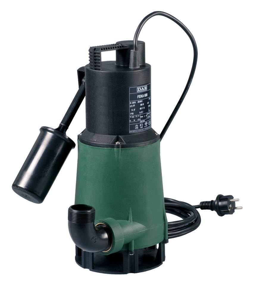 DAB Feka 600 M-A 230V vuilwaterpomp