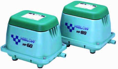 Luchtpomp HIBLOW HP-40 18 mm