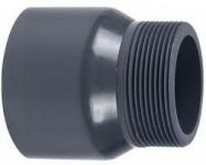 VDL PVC puntstuk handgevormd 110 mm x 4'' PN16