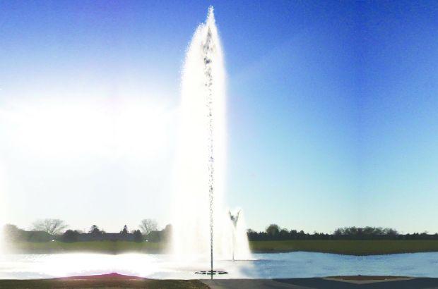AquaMaster Gemini nozzle voor 20 pk fontein