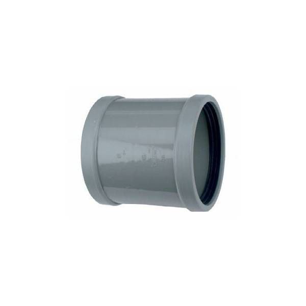 PVC overschuifmof 125 mm SN8