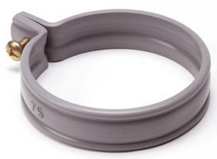 PVC HWA beugel grijs - 70 mm