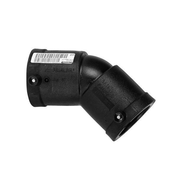 Plasson Elektrolas knie 125 mm 45 graden