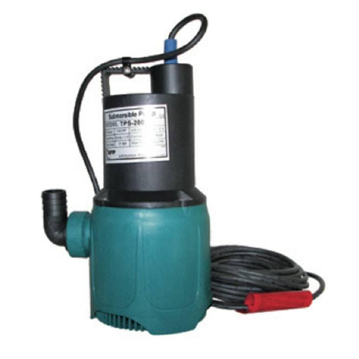 APP dompelpomp TPS 200V 0,19 kW - 8,4 m3/u, 230V inclusief buisvlotter