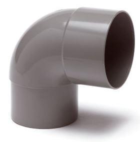 PVC HWA bocht 87,5 graden 80 mm (mof/spie/verjongd spie)