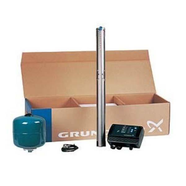 Grundfos Constant drukpakket met SQE 3-65 bronpomp incl. 20 m kabel