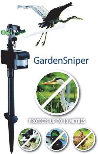 GardenSniper reigerschrik