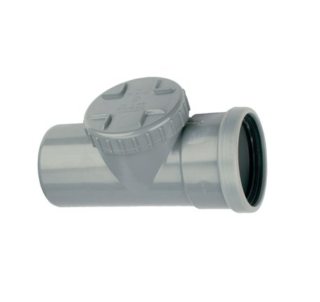 PVC ontstoppingsstuk 110 mm SN4 (mof/spie)
