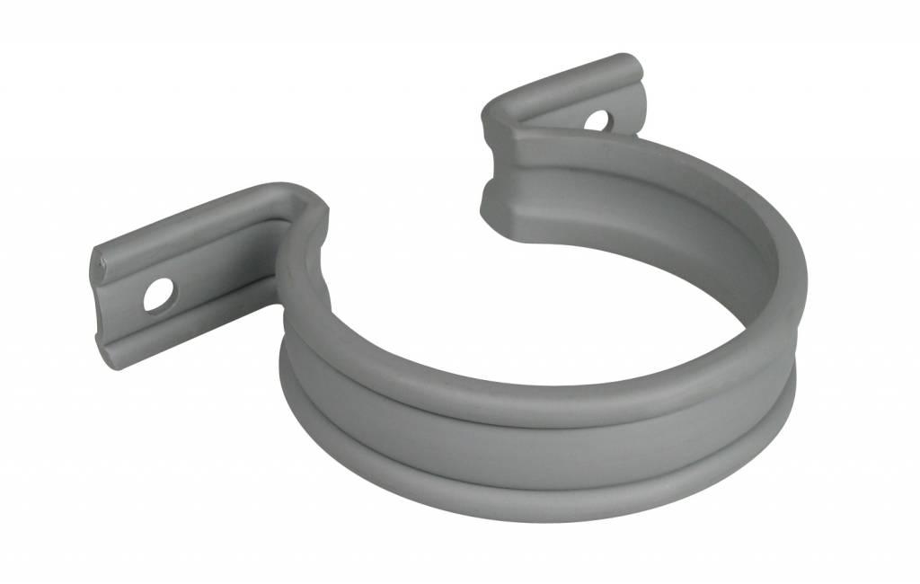 PVC HWA zadel grijs - 40 mm