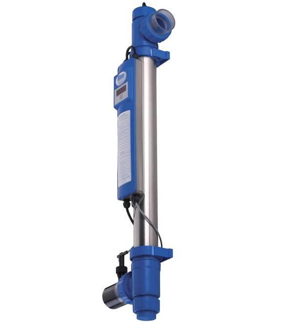 Blue Lagoon UV-C Timer kWartsglas voor 130W
