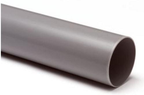 PVC HWA afvoerbuis 80 mm L = 4 m
