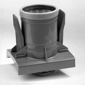 PVC knevelinlaat met zettingsinlaat 400 x 125 mm SN8 KOMO