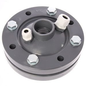 PVC bronkop / putdeksel 125 mm (1 1/4'' / 50 mm doorvoer)