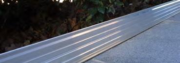 IrriTech Alubord 100 aluminium L = 2,40 m / Pakket 5 stuks