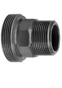 VDL PVC 90 mm x 3'' draadeind diameter uitwendig x buitendraad